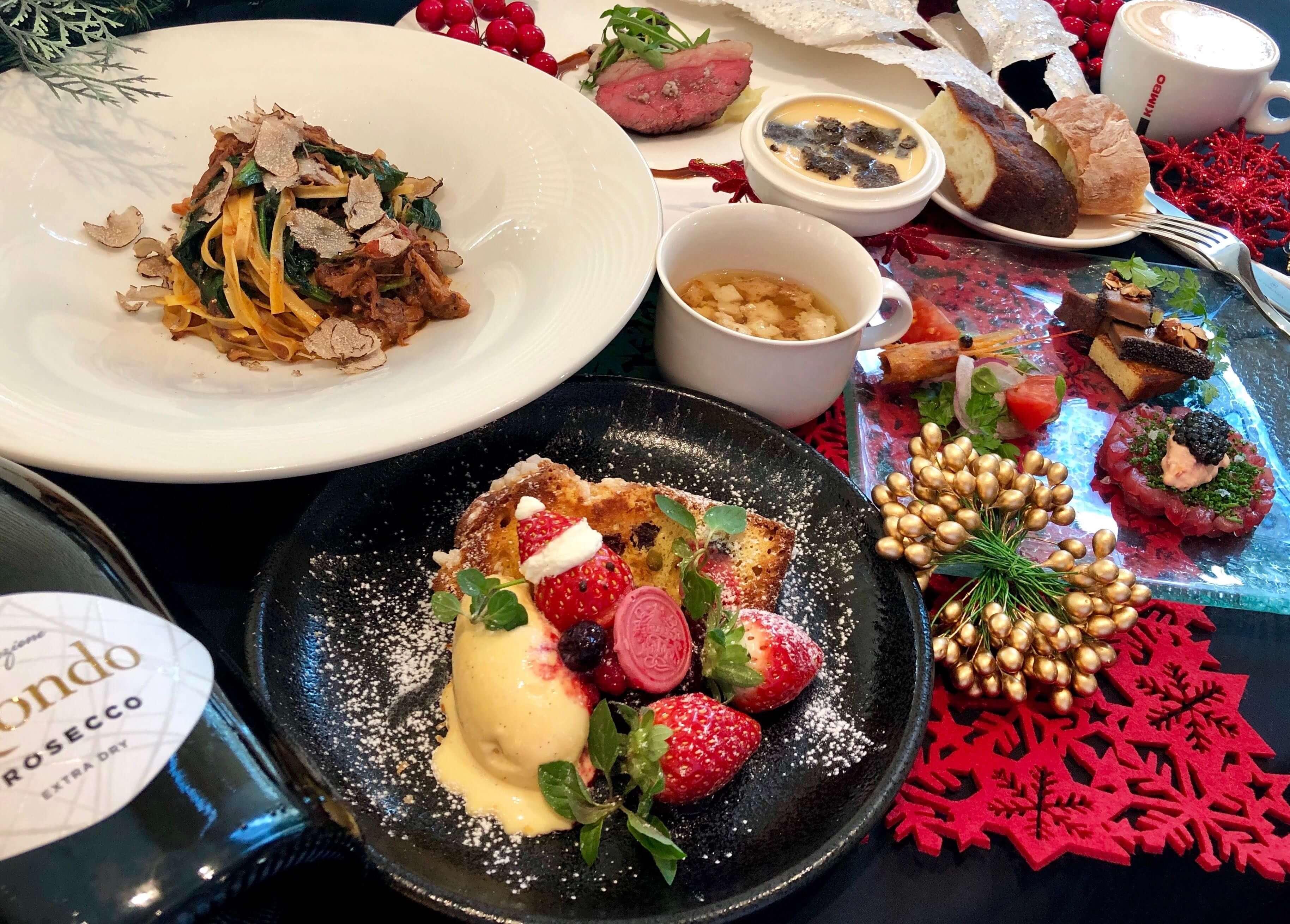 「2019年クリスマスディナー予約受付中」のイメージ写真